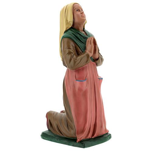 St. Bernadette resin statue 30 cm hand painted Arte Barsanti 4