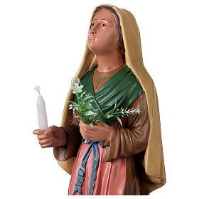 Sainte Bernadette peinte à la main statue résine 40 cm Arte Barsanti s2