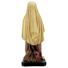 Santa Bernadette dipinta a mano statua resina 40 cm Arte Barsanti s5