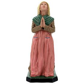 Sainte Bernadette résine peinte à la main statue 60 cm Arte Barsanti s1