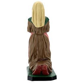 Sainte Bernadette résine peinte à la main statue 60 cm Arte Barsanti s5