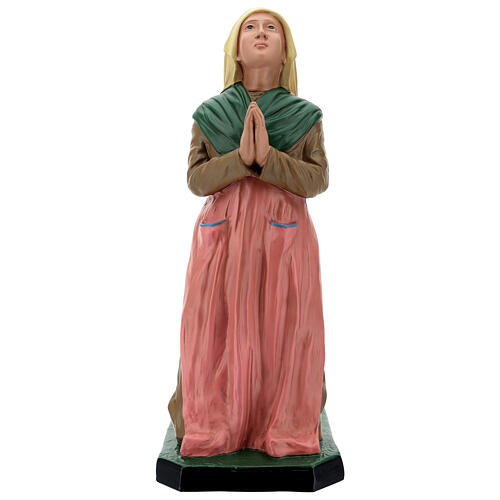 Santa Bernadette resina dipinta a mano statua 60 cm Arte Barsanti 1