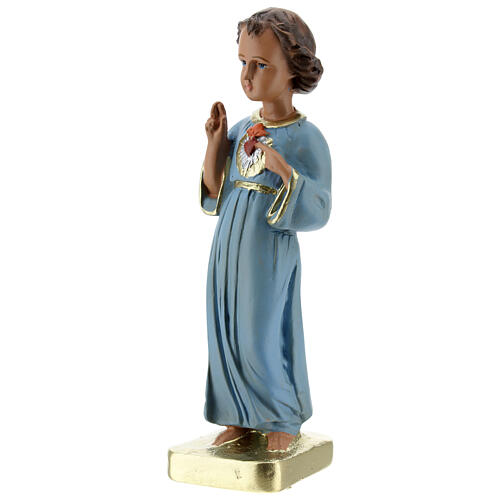 Niño que bendice estatua yeso 20 cm pintada Barsanti 2
