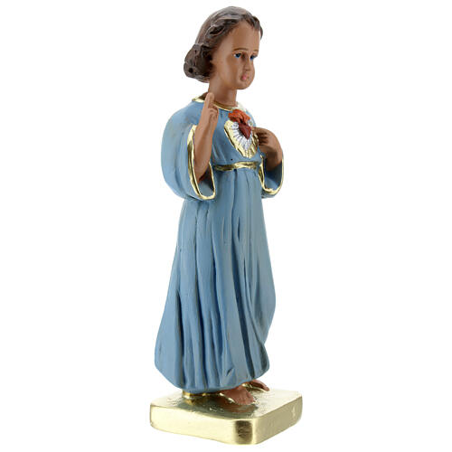 Niño que bendice estatua yeso 20 cm pintada Barsanti 3