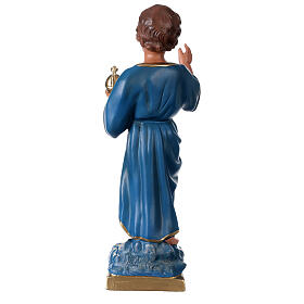 Blessing Child statue 16 in hand-painted plaster Arte Barsanti s5