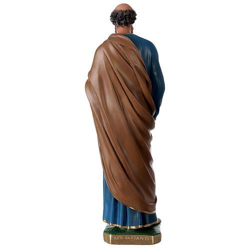 Statua San Pietro gesso 60 cm dipinta a mano Arte Barsanti 5