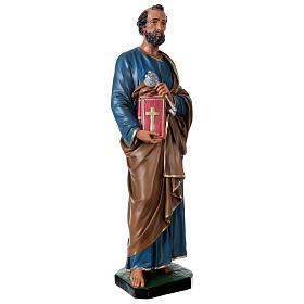 St. Peter hand painted resin statue Arte Barsanti 60 cm s4