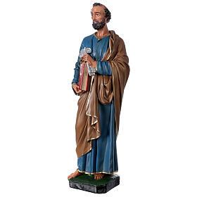 San Pietro 60 cm statua resina dipinta a mano Arte Barsanti s3