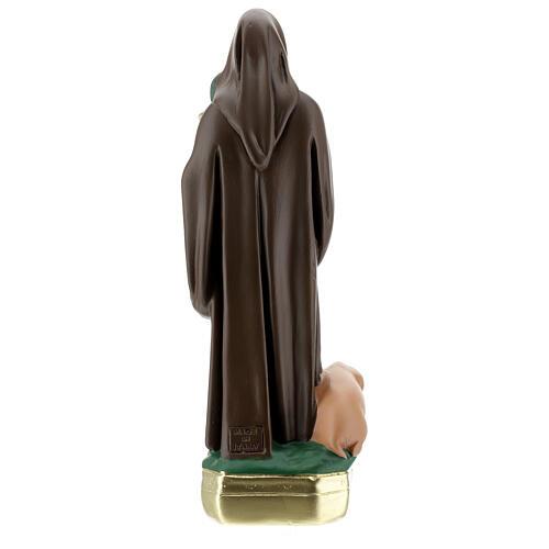 St. Anthony Abbot plaster statue 30 cm hand painted Arte Barsanti 5