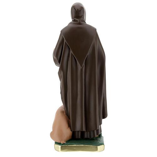 Saint Antoine Abbé plâtre peint main 40 cm Barsanti 7