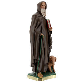 St Anthony Abbot plaster statue, 40 cm hand painted Barsanti s5