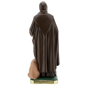 St Anthony Abbot plaster statue, 40 cm hand painted Barsanti s7
