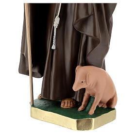 Statue of St. Anthony Abbott 50 cm plaster Arte Barsanti s4