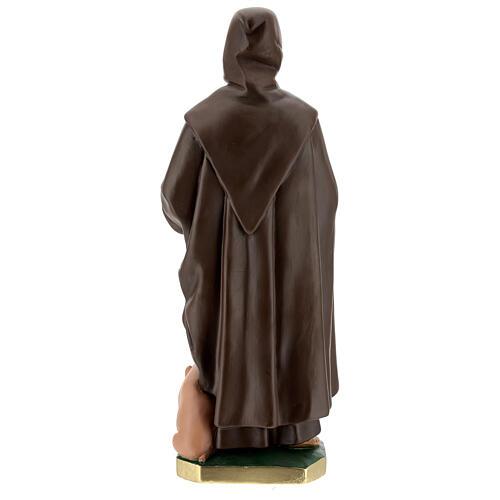 Statue of St Anthony the Abbot 50 cm, plaster Arte Barsanti 6