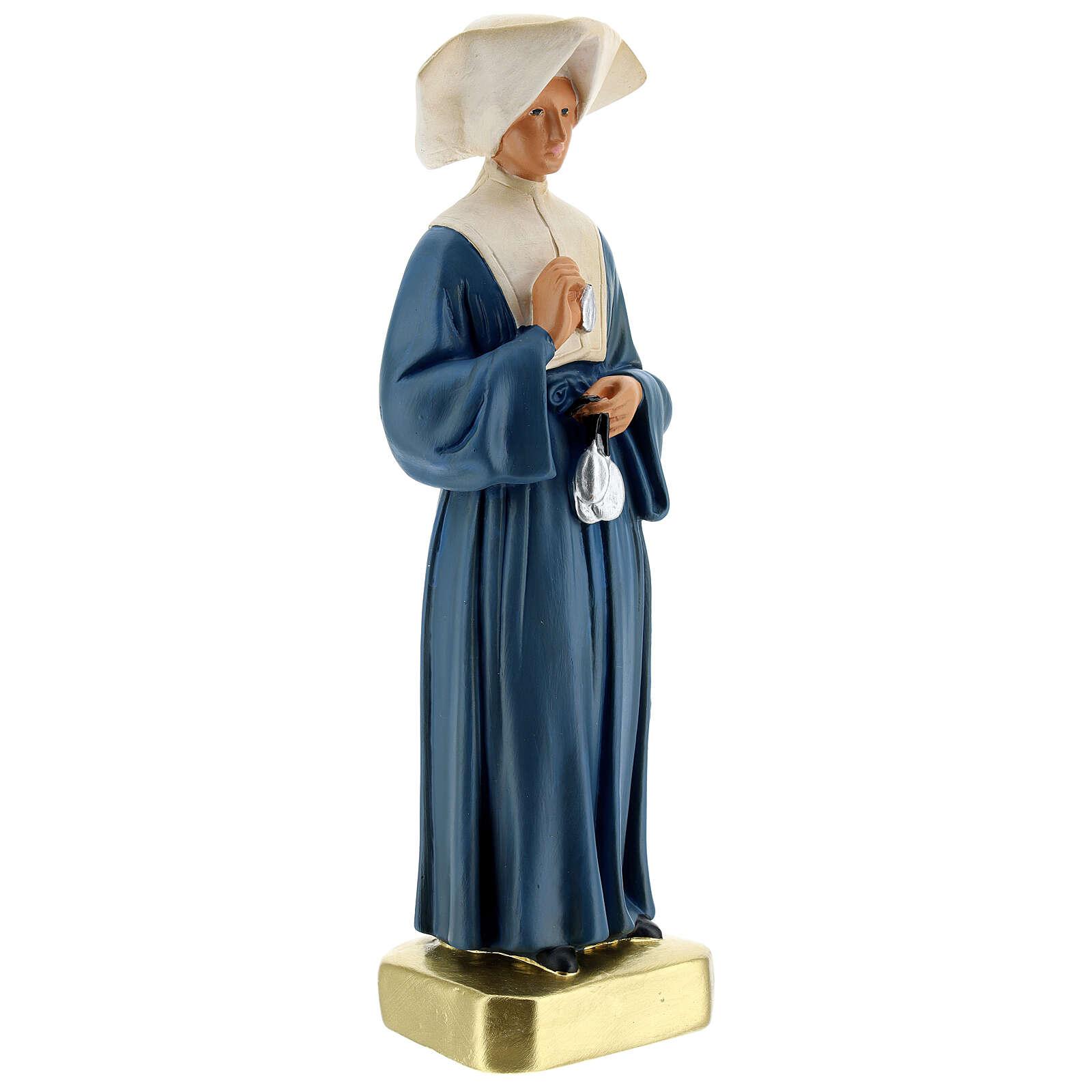 Statue plâtre Sainte Catherine Labouré 30 cm Arte Barsanti 4
