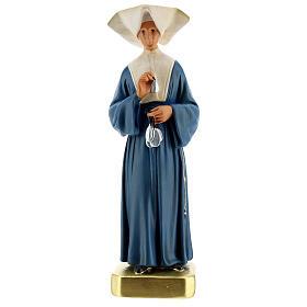Statue plâtre Sainte Catherine Labouré 30 cm Arte Barsanti s1