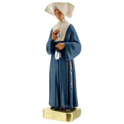 Statue plâtre Sainte Catherine Labouré 30 cm Arte Barsanti 3