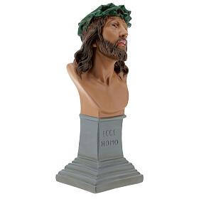Ecce Homo bust statue, 30 cm hand painted plaster Arte Barsanti s5