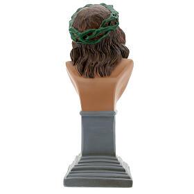 Ecce Homo bust statue, 30 cm hand painted plaster Arte Barsanti s6