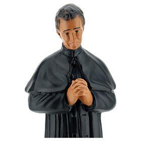 St. John Bosco hand painted plaster statue Arte Barsanti 25 cm s2
