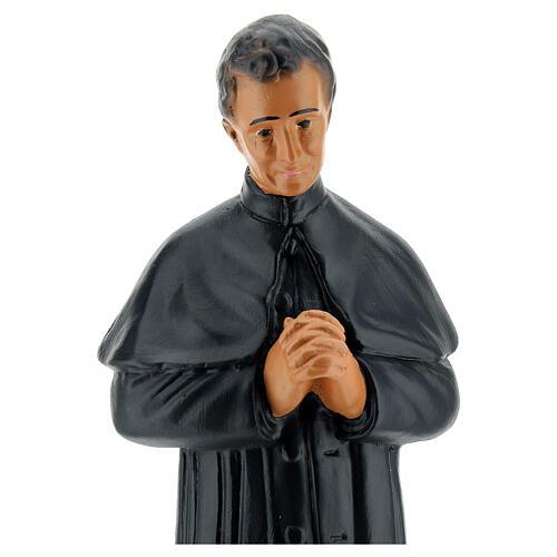 St. John Bosco hand painted plaster statue Arte Barsanti 25 cm 2