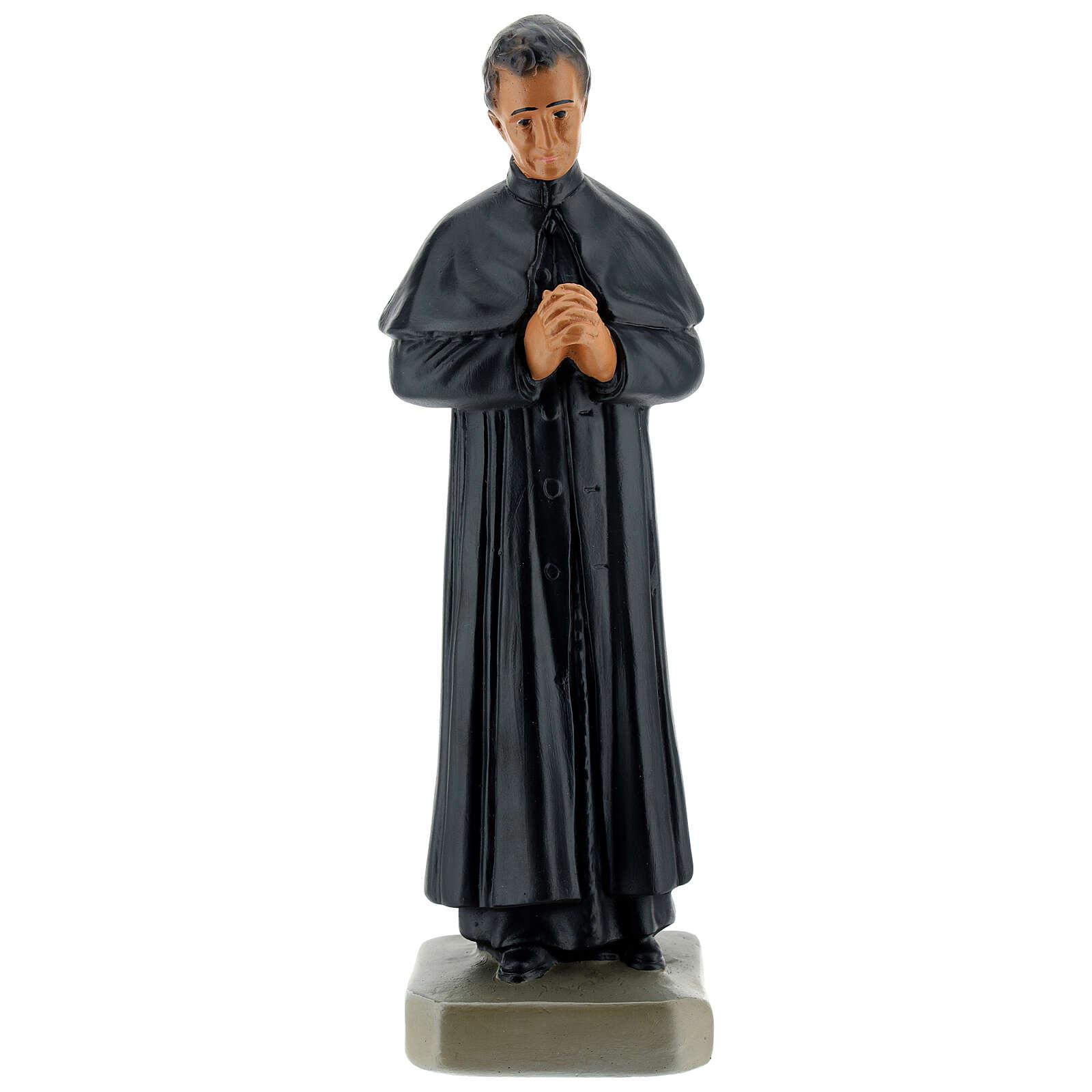 Saint Jean Bosco statue plâtre 25 cm Arte Barsanti 4