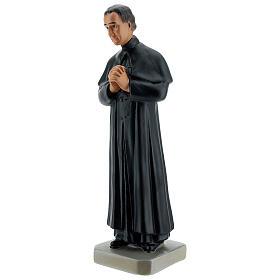 Saint Jean Bosco statue 30 cm plâtre peint main Arte Barsanti s3