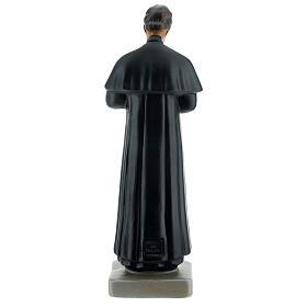 Saint Jean Bosco statue 30 cm plâtre peint main Arte Barsanti s5