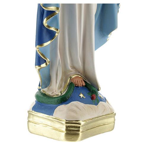 Madonna Immacolata 30 cm statua gesso Arte Barsanti 4