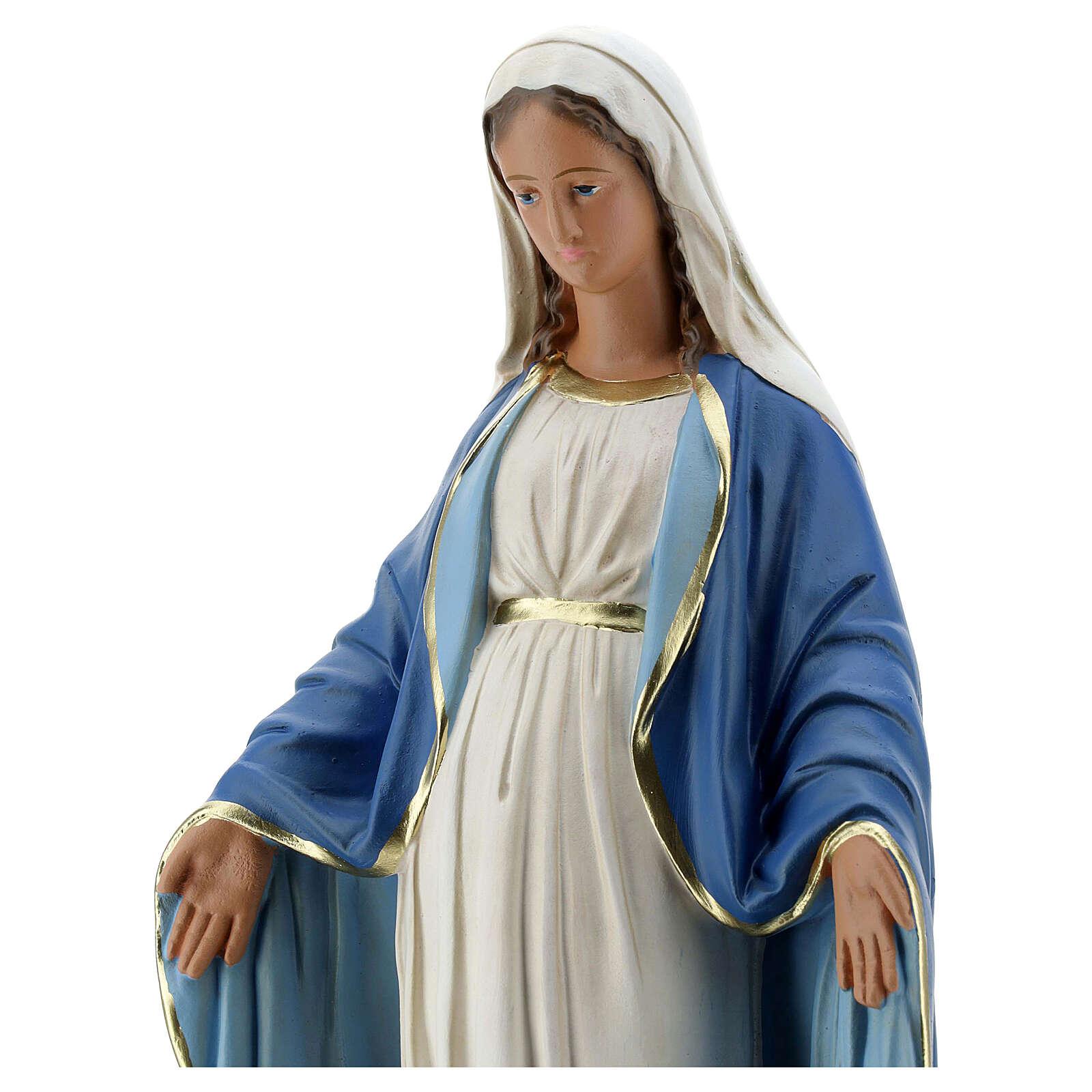 Virgen Inmaculada 40 cm estatua yeso Arte Barsanti 4