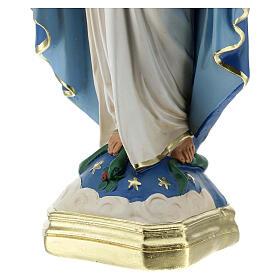 Immaculée Conception 40 cm statue plâtre Barsanti s6