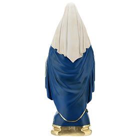 Immaculée Conception statue 50 cm plâtre peint Barsanti s6