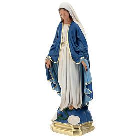 Madonna Immacolata statua 50 cm gesso dipinto Barsanti s3