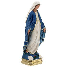 Madonna Immacolata statua 50 cm gesso dipinto Barsanti s4