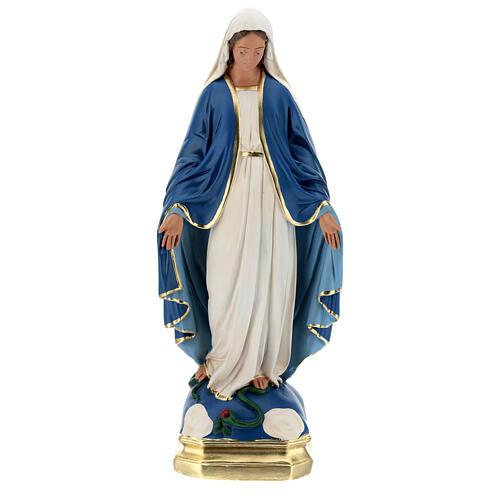 Madonna Immacolata statua 50 cm gesso dipinto Barsanti 1