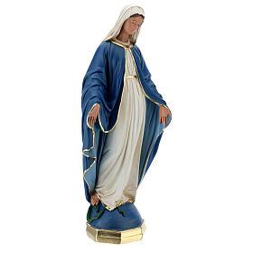Virgen Inmaculada estatua yeso 60 cm Arte Barsanti s5