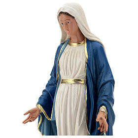 Statue of Immaculate Virgin Mary resin 60 cm hand painted Arte Barsanti s2