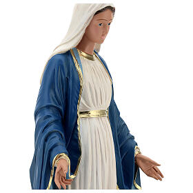 Statue of Immaculate Virgin Mary resin 60 cm hand painted Arte Barsanti s4