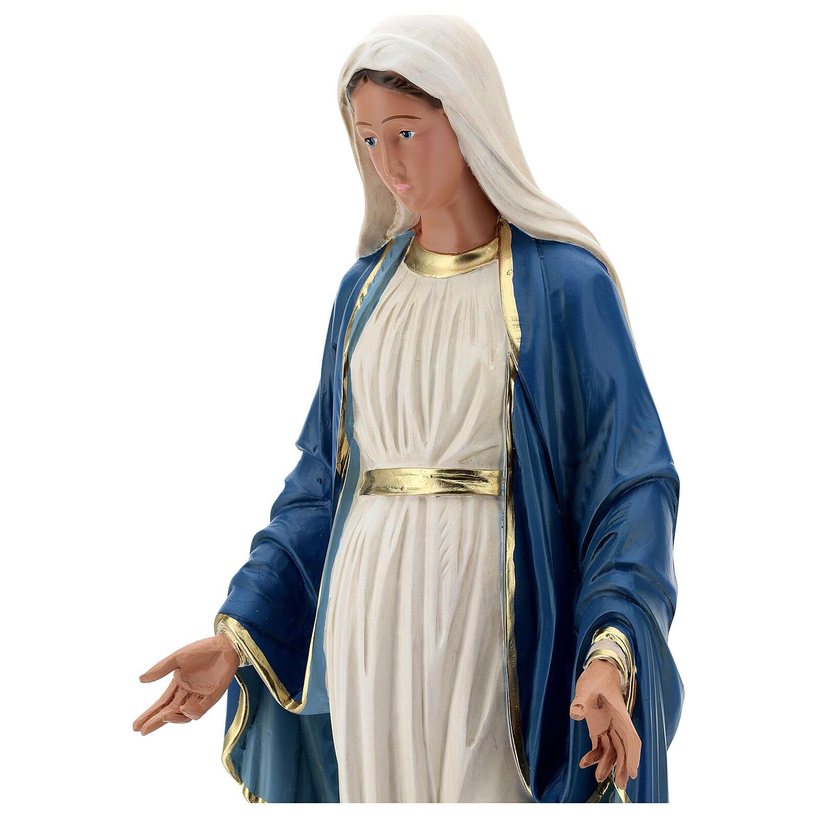 Statue Immaculée Conception résine 60 cm peinte à la main Arte Barsanti 4