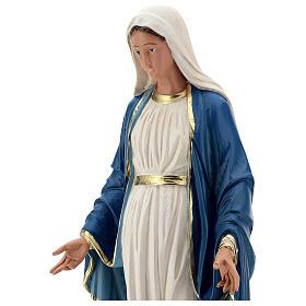 Statue Immaculée Conception résine 60 cm peinte à la main Arte Barsanti s2