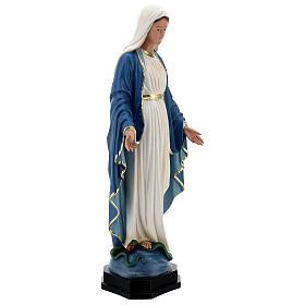 Statue Immaculée Conception résine 60 cm peinte à la main Arte Barsanti s6