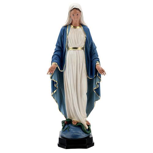 Statue Immaculée Conception résine 60 cm peinte à la main Arte Barsanti 1