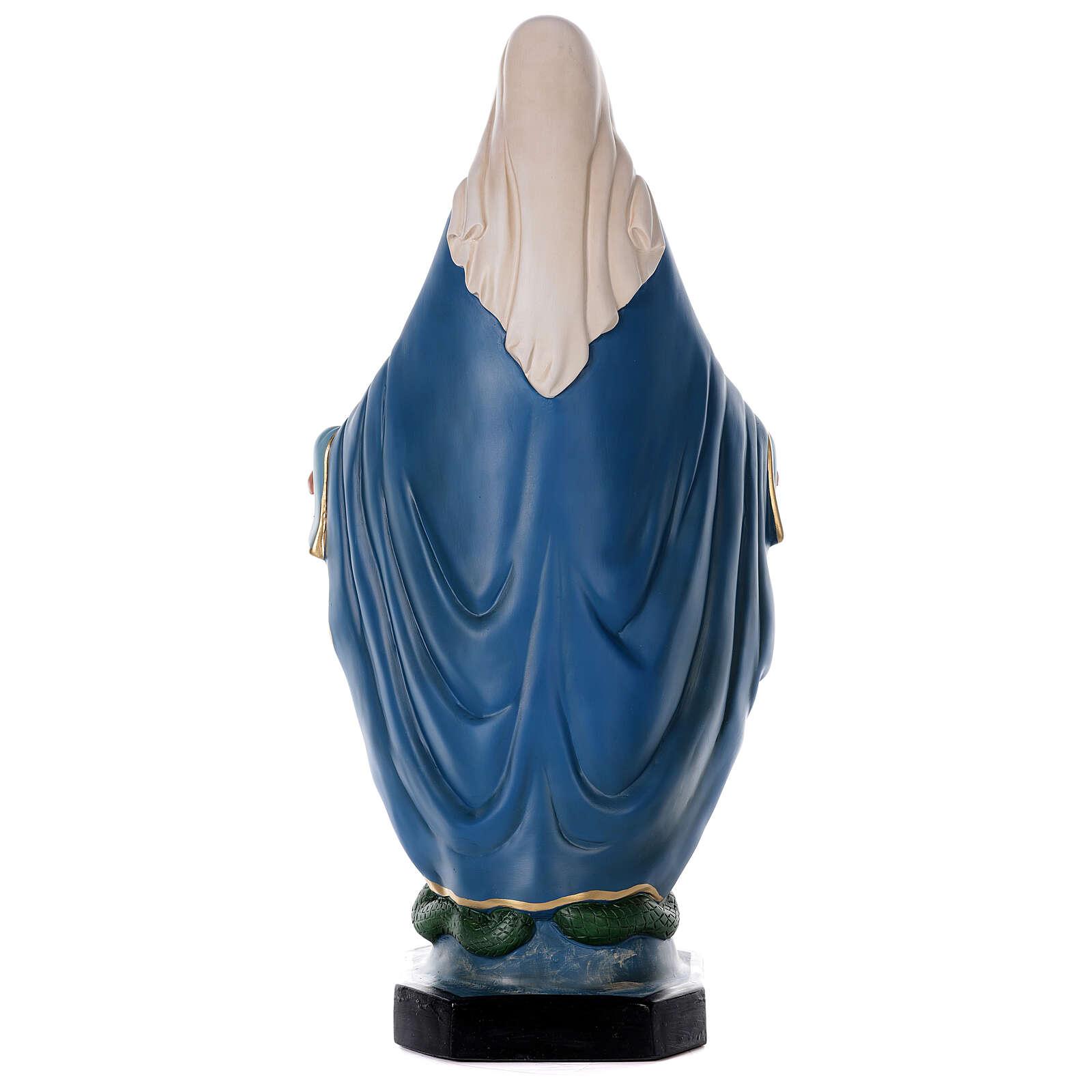 Immaculée Conception statue résine 80 cm Arte Barsanti 4