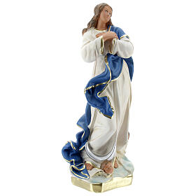 Immaculate Virgin Mary of Murillo 25 cm plaster hand painted Arte Barsanti s5