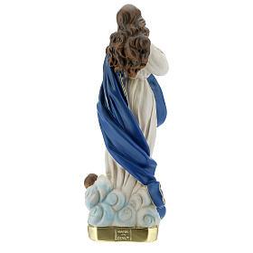 Statua Madonna Immacolata del Murillo 30 cm gesso Barsanti s7