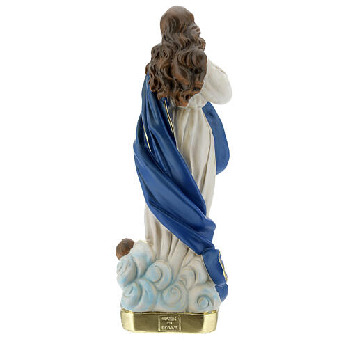 Immaculate Conception by Murillo statue, 30 cm in plaster Barsanti 7