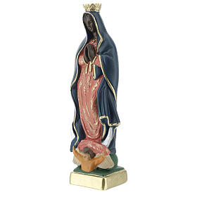 Our Lady of Guadalupe 20 cm hand painted plaster statue Arte Barsanti s2