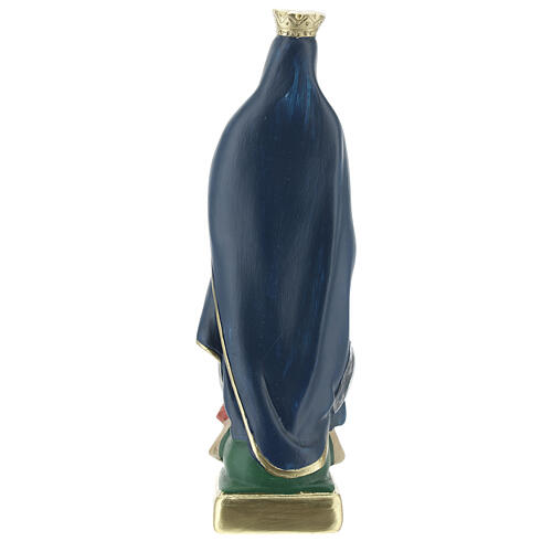 Our Lady of Guadalupe 20 cm hand painted plaster statue Arte Barsanti 4
