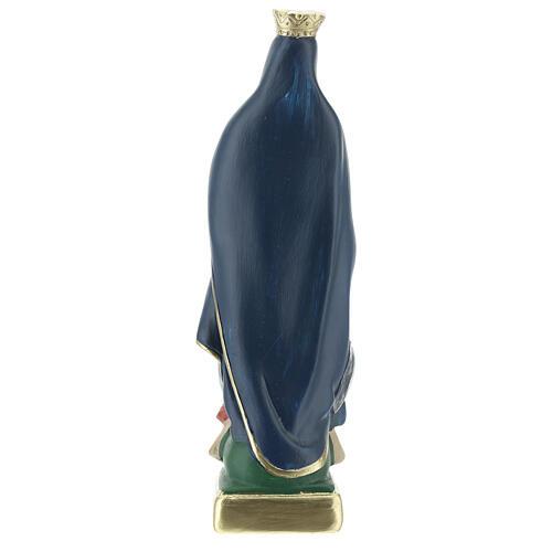 Virgen Guadalupe estatua yeso 20 cm Arte Barsanti 4