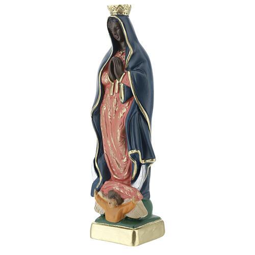 Notre-Dame de Guadalupe statue plâtre 20 cm Arte Barsanti 2
